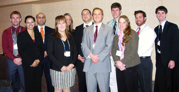 2011 winners at ANS meeting